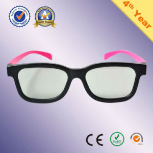 e66181e6f5b China Factory Plastic Circular   Linear Polarized 3D Glasses for Reald