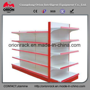Industrial Metal Supermarket Display Rack Shelving