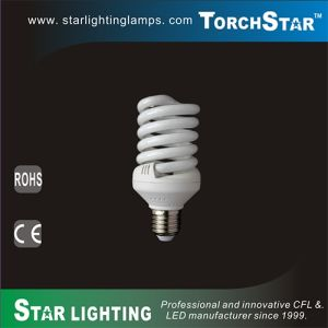 23W Full Spiral 1400lm Energy Saving CFL