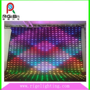 Back Drop LED Video Curtain for Disco Concert pictures & photos