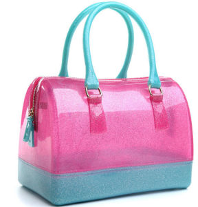 Hot Sale Candy Color Silicone Rubber Handbag Bag