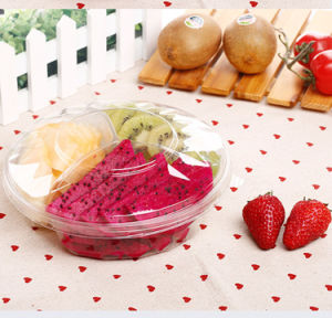 disposible outdoor portable packaging plastic fruit box pictures & photos