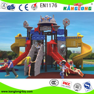 Professional Manufacturer of Outdoor Playground Slides (Kl 049A) pictures & photos