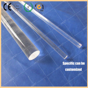Transparent Quartz Rod Used in Semiconductor pictures & photos