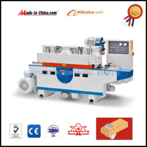 Wood Cutting Saw Machine with Multi Blade Atuomatic pictures & photos