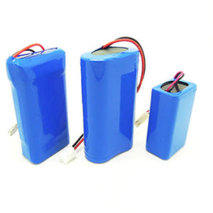 Customized 3.7V, 7.4V, 11.1V, 12V, 14.8V Li-ion Battery Pack pictures & photos