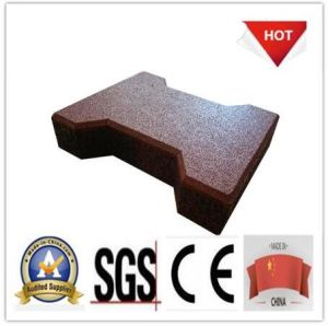 Heat Resistant Colorful Recycled Rubber Flooring