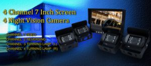 Vehicle Security Solution LCD Monitor for Car Reversing Backup pictures & photos