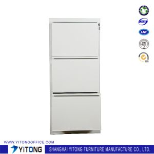 Yitong 3-Drawer Metal Storage Cabinet / Office Use Steel Movable Cabinet pictures & photos
