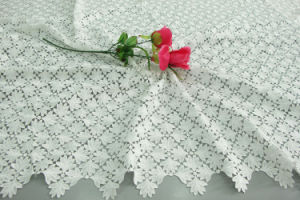 Maple Leaf White Water Soluble Embroidery Fabric
