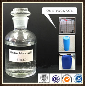 Hydrochloric Acid 32%, HCl 32%, Muriatic Acid 32% pictures & photos