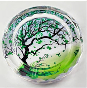 Hot Wishing Tree Crystal Glass Ashtray (JD- CA-813) pictures & photos