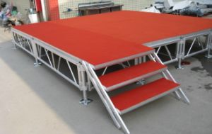 Outdoor Performance Aluminum Adjustable Stage pictures & photos