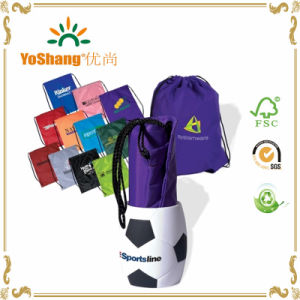 Factory Price Polyester Bag, Nylon Polyester Drawstring Bag pictures & photos