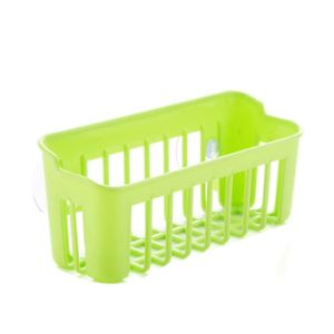 Multi Functional Kitchen Sink Storage Basket Creative Dish Washing Sponge Sucker Drain Shelf pictures & photos