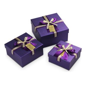 Noble Gift Box with Ribbons pictures & photos