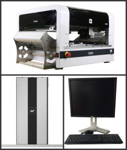 Vision Neoden4 Pick and Place Machine for PCBA Production Line pictures & photos
