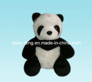 Plush Sitting Panda with Soft Material pictures & photos