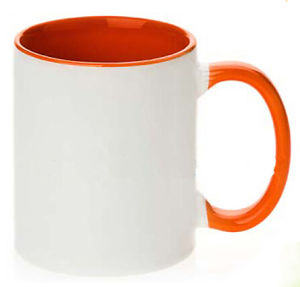 Ceramic Sublimation Mug with Inner and Handle Color (002) pictures & photos