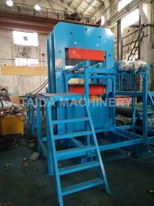 Rubber Wear Liner Plate Vulcanizing Press Curing Machine Vulcanizer with Omron PLC pictures & photos