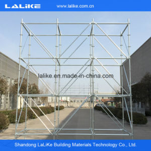 Lalike Hot DIP Galvanized Ringlock Scaffolding for Construction Project