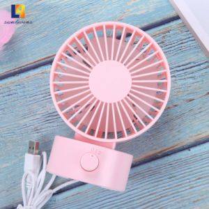 2W Home Appliance Desk Mini Cooling Rechargeable Stand Electrical DC Fan