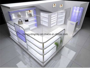 Perfume Stand, Cosmetic Display Rack, Kiosk pictures & photos