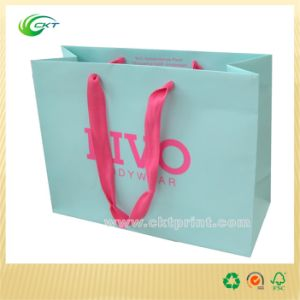 Fashion Carrier Bags in Foil Stamping (CKT-PB-165)