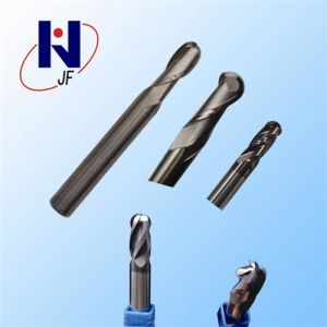 2 Flute TiAIN Coated Ball Nose End Mill