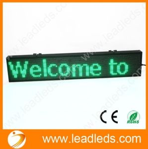 New Product Single Green Color P10 LED Message Board