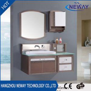 New Waterproof Modern Wall PVC Bathroom Mirror Cabinet