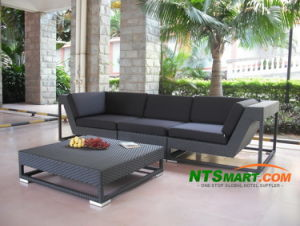 Wicker Outdoor Sofa Set (H020) pictures & photos