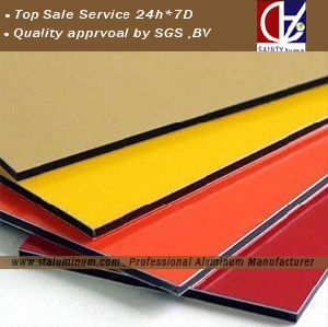 Aluminium Composite Panel with Different Surface Colors