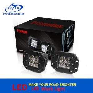 3inch 40W Motorcycle Headlight Round LED Headlamp Work Light Spot Beam 6000K