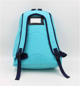 Blue Washed Nylon Leisure Backpack/Drawstring Shoulder Bags pictures & photos