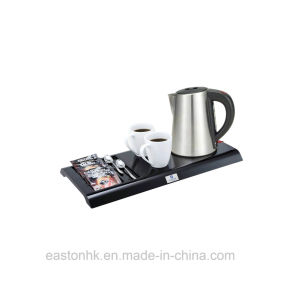 Popular Hotel Cordless 1L Stainless Steel Electric Kettle pictures & photos