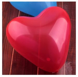 "12 ""Decorative Balloon 1.5g Printed Heart-Shaped Balloons"