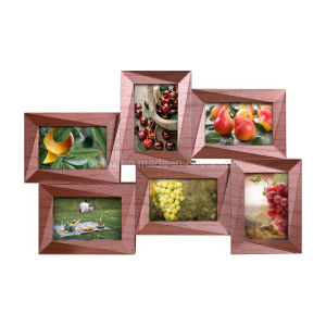 Plastic Multi Openning Collage Home Decoration Picture Photo Frame