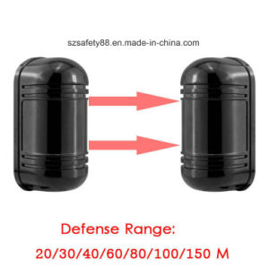 Outdoor 100m Double Beam Security Active IR Detector