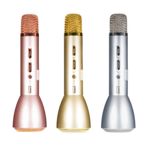 Mini Karaoke Microphone, Portable Bluetooth Karaoke Speaker pictures & photos
