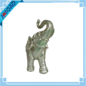 Lucky Elephants Figurine Resin Statue Trunk Carved Decorative New Home Decor pictures & photos