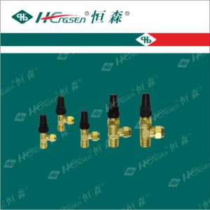 Right Angle Valve/Angle Valve/Valve/Refrigeration Fitting pictures & photos