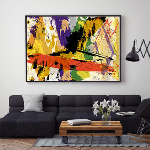 Handmade Abstract Oil Painting