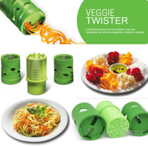 Multifunction Vegetable Fruit Twister Cutter Slicer Utensil Processing Device pictures & photos