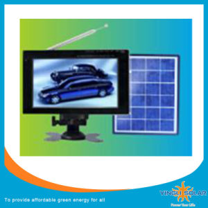 Multi Media Solar TV with DC9V and Built-in Lead-Acid Battery pictures & photos