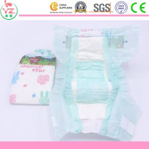 Ultra Breathable Grade a Baby Star Baby Diaper
