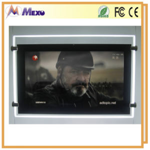Acrylic Frames Photo Square LED LCD Advertising Display pictures & photos