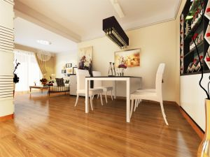 Golden High Gloss Laminate Flooring