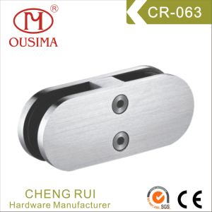 Glass to Glass Stainless Steel Balustrade Clamps (CR-063)