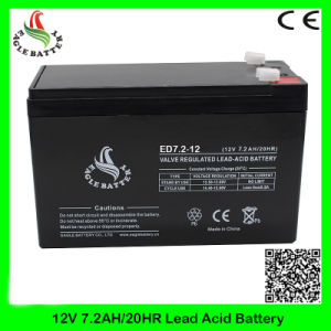12V 7.2ah Rechargeable Mf AGM Deep Cycle Lead Acid Battery
